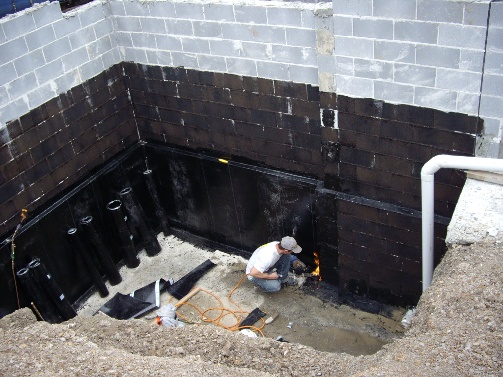 Swimming Pool Waterproofing Membrane : Method statement for external water proofing membrane