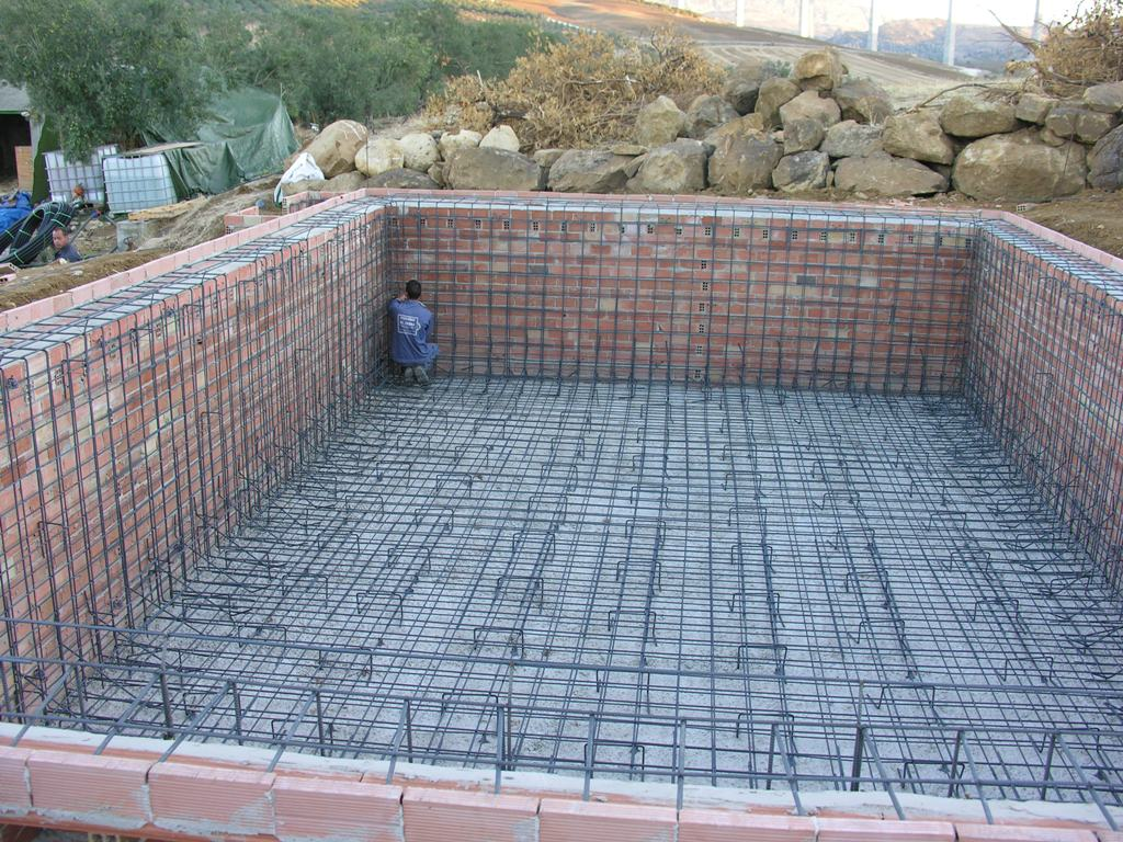 Method statement for civil works for swimming pool for Concrete swimming pool construction