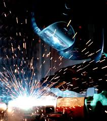 welding process of pipes