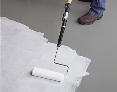 Epoxy Paint Application